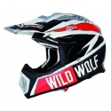 Casco cross Shiro WILD WOLF