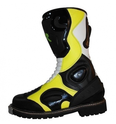 Botas de cross AMARILLO FLUOR