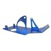 Cubrecarter aluminio azul
