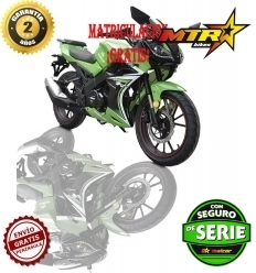Malcor Furious RR 125cc VERDE