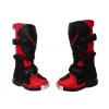Botas de cross infantiles rojo