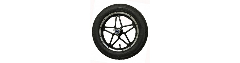 Recambios ruedas y neumáticos patinetes